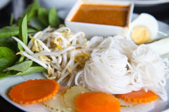 Thai style noodle Royalty Free Stock Photo