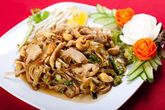 Thai style noodle Royalty Free Stock Image