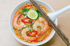 Thai style noodle Royalty Free Stock Photography