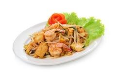 Thai style noodles Stock Photos