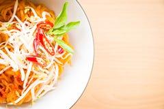 Thai style noodles, Pad-Thai Royalty Free Stock Photo