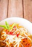 Thai style noodles, Pad-Thai Stock Photos