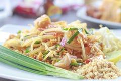 Thai style noodles / padthai. Thai style noodles food - Stock Image Royalty Free Stock Photo