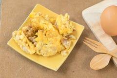 Thai style omelet Stock Photo