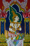 Thai style painting Stock Image