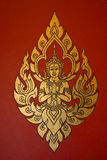 Thai Style Painting Art, Thailand Stock Photo