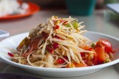 Thai Style Papaya Salad Stock Images