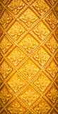 Thai style pattern design handcraft on wood Stock Photos