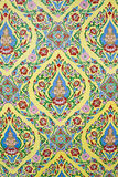 Thai style pattern wallpaper Stock Image