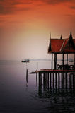 Thai style pavilion Stock Photography