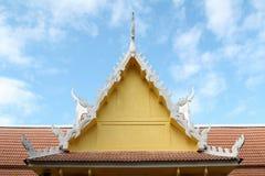 Thai style pavilion Royalty Free Stock Photos