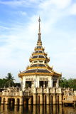 Thai style of Pavilion in the park , Thailand. Royalty Free Stock Photography