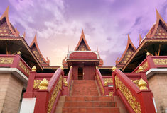 Thai style pavilion. Stock Photography