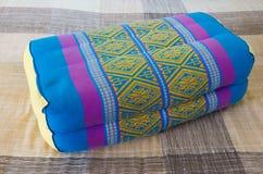 Thai style pillow Stock Photos