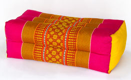 Thai style pillow Royalty Free Stock Photography