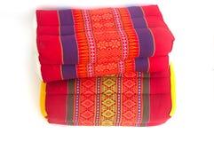 Thai style pillow Royalty Free Stock Image