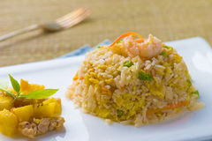 Thai style pineapple fried rice Royalty Free Stock Photo