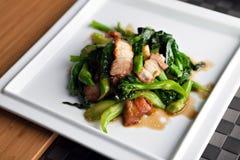 Thai style pork dish Stock Photos