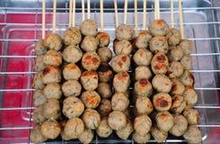 Thai style pork meatball Stock Photos