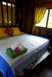 Thai style resort interior Stock Photo