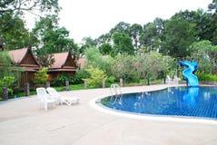 Thai style resort Royalty Free Stock Photography