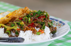 Thai style rice Royalty Free Stock Photography