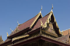 Thai style roof Stock Images