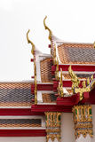 Thai style Roof with gable apex Stock Images