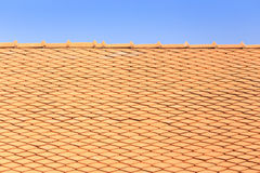 Thai style roof for house Stock Images