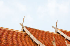 Thai style roof for house Royalty Free Stock Image