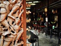 Thai style room Royalty Free Stock Photos