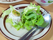 Thai style salad Royalty Free Stock Photography