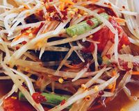 Thai style Salad Royalty Free Stock Photos