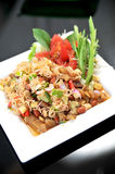 Thai Style salad in thai Stock Image