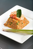 Thai Style Shrimp Fried Rice Royalty Free Stock Images
