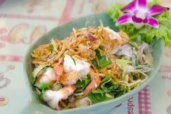 Thai style shrimp salad Stock Image