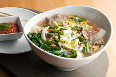 Thai Style Soup With Beef Royalty Free Stock Images
