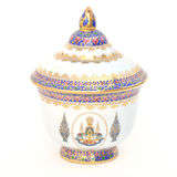 Thai style souvenir cup Royalty Free Stock Photography