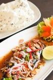 Thai style spicy saba Stock Image