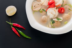 Thai style spicy soup,Tom Yum Stock Image
