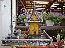 Thai style spirit house Royalty Free Stock Photo