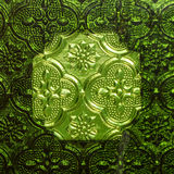 Thai style stained glass Royalty Free Stock Images