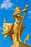 Thai style statue Royalty Free Stock Photos
