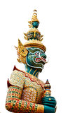 Thai style statue of Tosakan Royalty Free Stock Images