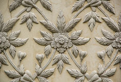 Thai style stucco. In temple Stock Image
