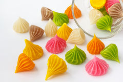 Thai style sweet dessert Stock Photo