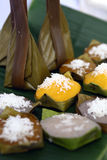 Thai style sweet desserts Stock Images