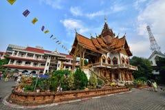 Thai Style Temple, Chiang Mai Stock Photo