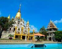 Thai-style temple in Saigon, Vietnam Royalty Free Stock Images