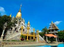Thai-style temple in Saigon, Vietnam Stock Images